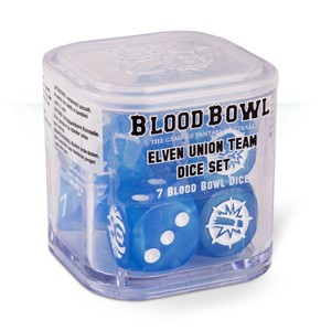 Picture of ELVEN UNION DICE SET BLOOD BOWL