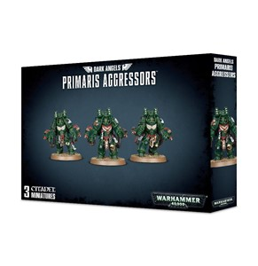 Picture of Dark Angels Primaris Aggressors
