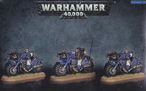 Picture of SPACE MARINE SCOUT BIKE SQUAD - Direct From Supplier*.