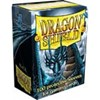 Picture of Black  Standard Sleeves (100) Dragon Sheild
