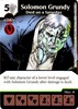 Picture of Solomon Grundy – Died on a Saturday