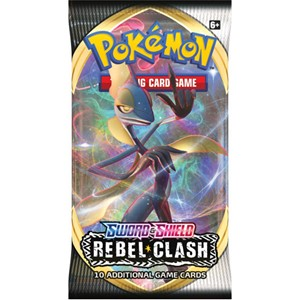 Picture of Sword & Shield 2 Rebel Clash Booster Pack Pokemon