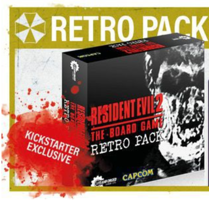 Firestorm Cards  Resident Evil 2: The Board Game - Retro Pack Expansion