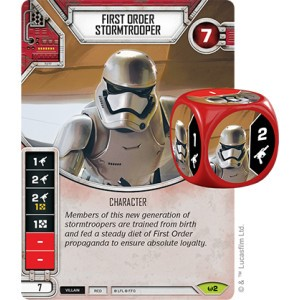 Picture of First Order Stormtrooper Comes With Dice