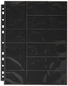 Picture of Ultimate Guard 32 Pocket (Standard and Mini American) Pages (10-Pages Black)
