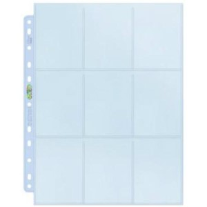 Picture of Ultra Pro Silver Series 9 Pocket Page